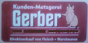 Kunden-Metzgerei